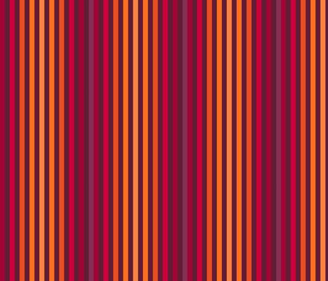 CUSHION_STRIPE_ORANGE fabric by tanglewebb on Spoonflower - custom fabric