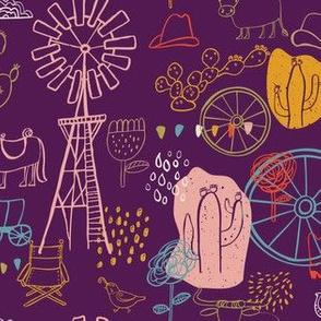 Western purple