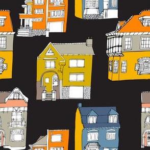 Houses black