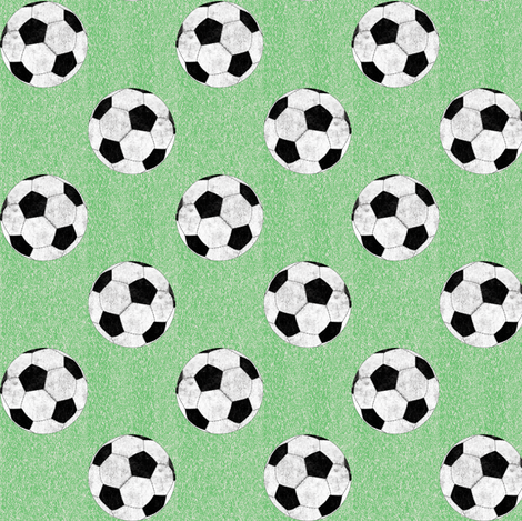 Soccer#1 fabric by susiprint on Spoonflower - custom fabric