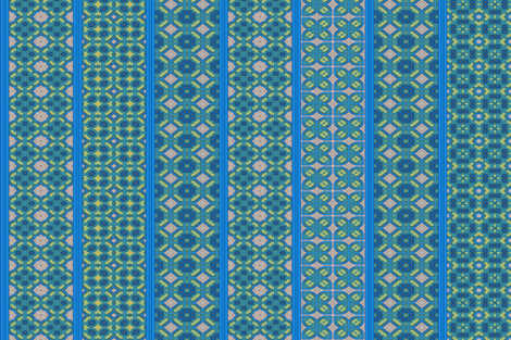 Morrocan_Blue_2-8 fabric by stradling_designs on Spoonflower - custom fabric