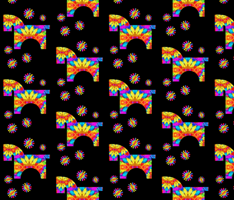 PARTY PIÑATA -DONKEY fabric by frogwindy on Spoonflower - custom fabric