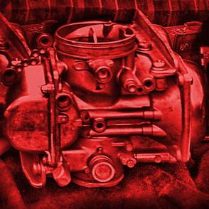 Vintage Biker Scarlet