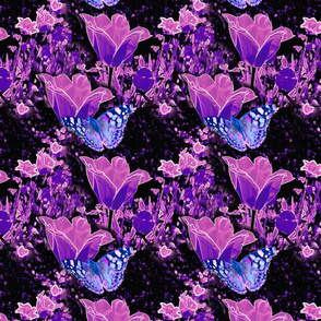 blue-butterfly-pattern