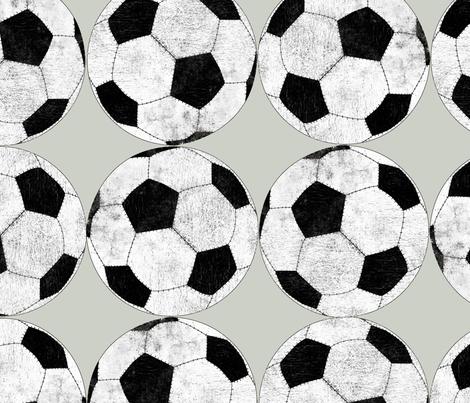 football_basic fabric by susiprint on Spoonflower - custom fabric