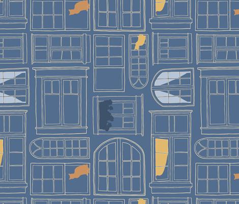 Evening Windows fabric by figandfossil on Spoonflower - custom fabric