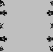 """Crypt Bats 42"""" - gray"""