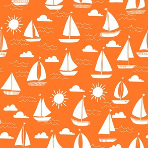 sailboats // nautical preppy summer kids ocean water nautical summer