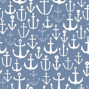anchor // nautical summer ocean water blue