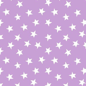 stars // lilac purple pastel lavender kids girls purple stars constellations