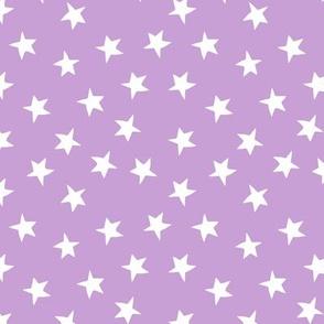 stars // lilac purple pastel lavender kids girls purple stars constellations