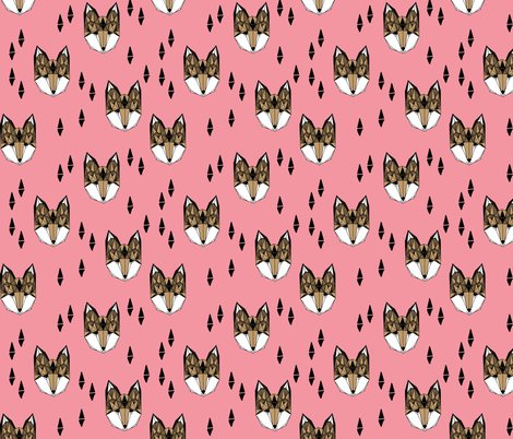 Fox_head_flamingo_pink_shop_preview