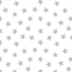 stars // grey and white nursery kids simple baby