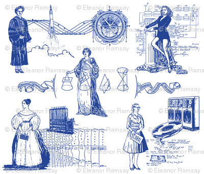 Women of Computer Science 12 inch size