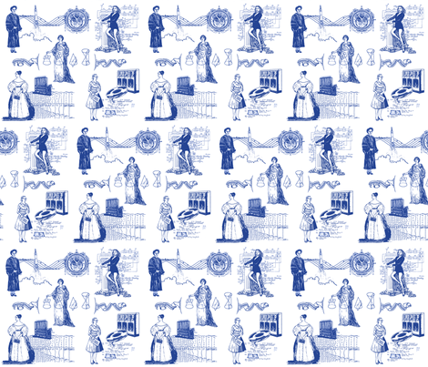 Women of Computer Science 12 inch size fabric by elramsay on Spoonflower - custom fabric