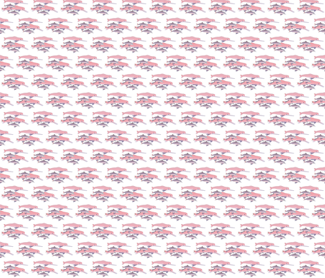 Amazon Pink Dolphins fabric by combatfish on Spoonflower - custom fabric