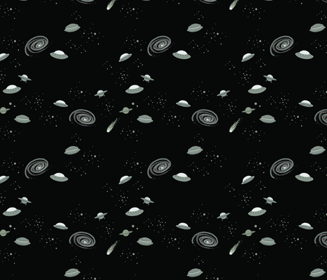 I Want To Believe! fabric by charizzard on Spoonflower - custom fabric