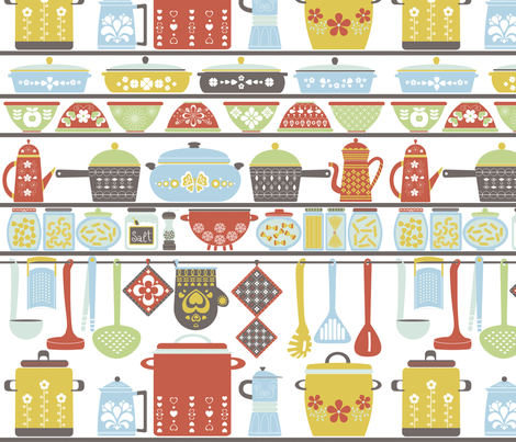 Vintage Kitchen Fabric New Decoration