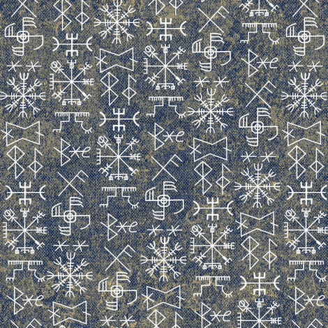 viking#9 fabric by susiprint on Spoonflower - custom fabric