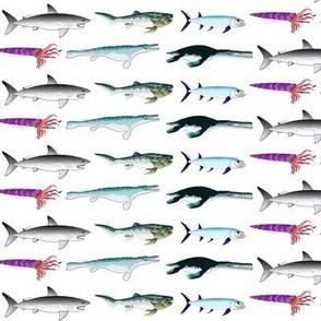 Extinct Real Sea Monsters