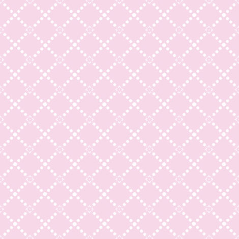Petite Trellis in sorbet fabric by lilyoake on Spoonflower - custom fabric