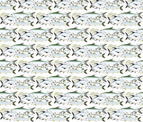 Florida Keys Flats Slam fabric by combatfish on Spoonflower - custom fabric