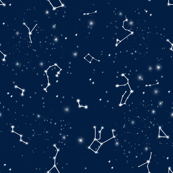 constellations // navy blue white kids stars nursery baby kids room