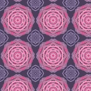 Pink & Grey Flowers 1204152