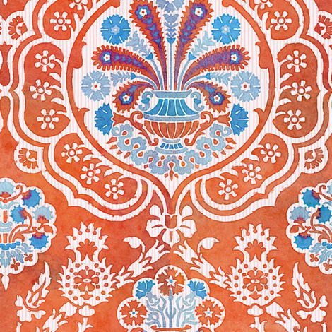 Damask VA 4e fabric by muhlenkott on Spoonflower - custom fabric