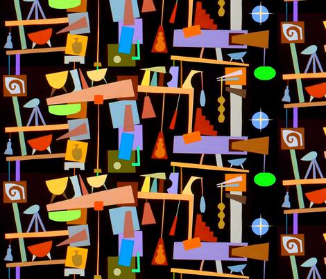 Piñata Pavilion fabric by boris_thumbkin on Spoonflower - custom fabric