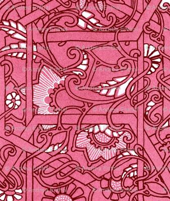 Hot Pink Basket Case