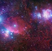 Purple Galaxy (Horsehead Nebula)