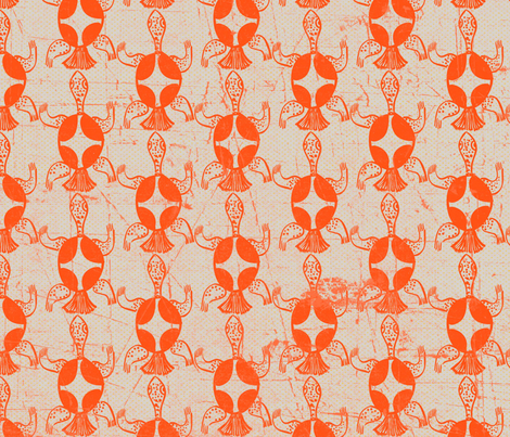 Turtles #3 fabric by susiprint on Spoonflower - custom fabric