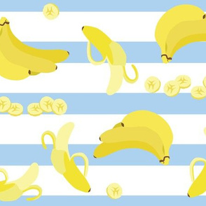 bananas with stripes