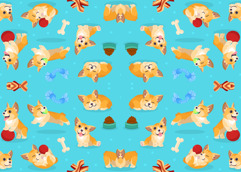 Corgi Wallpaper Cartoon Wallpaper Directory