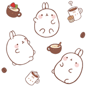 Coffee & Strawbunnies