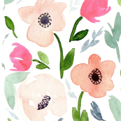 Watercolor floral 2