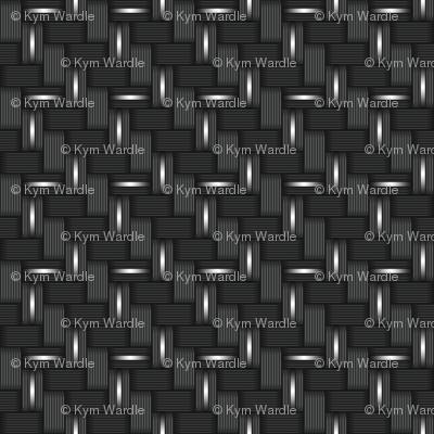 014 metal carbon fibre - silver wire