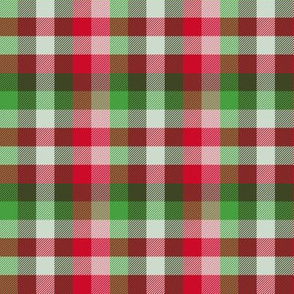 Madras plaid - Christmas