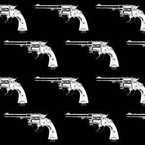 "3"" Colt Revolvers on Black"