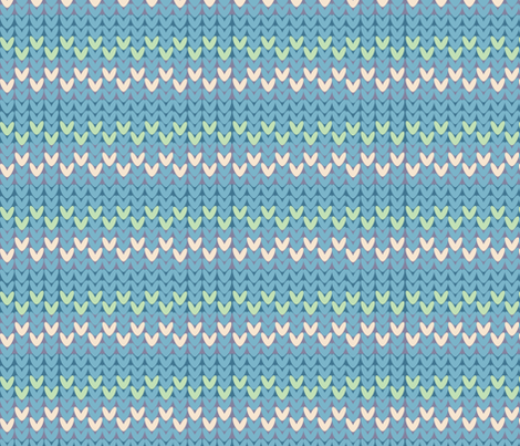 Yarnaholic 2 fabric by owlandchickadee on Spoonflower - custom fabric