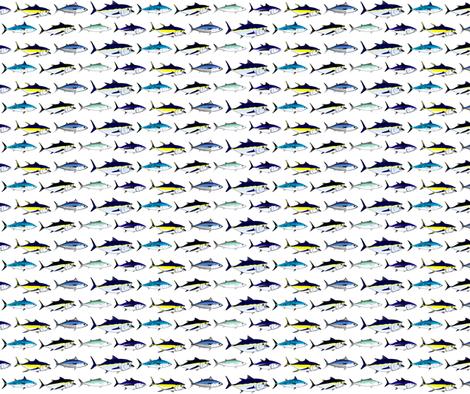 7 Tuna fabric by combatfish on Spoonflower - custom fabric