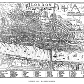 Medieval map of London
