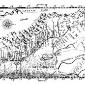 Old map of Vietnam