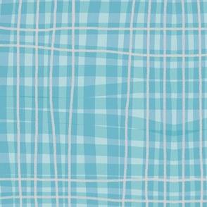 Blue flannel design