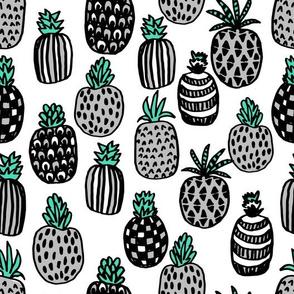 pineapple // summer kids grey tropical fruits summer