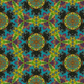 leaf kaleidoscope 5