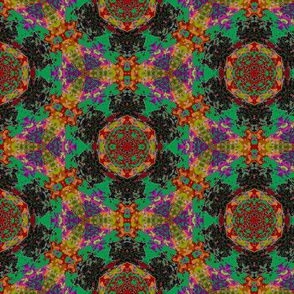 leaf kaleidoscope 4