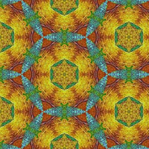 leaf kaleidoscope 8