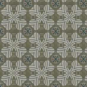 Celtic Design in Greens